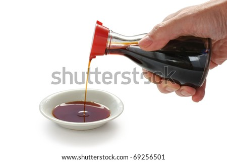 soy sauce , japanese condiment