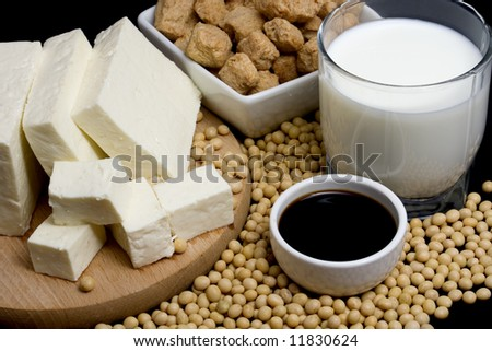 Soy sauce, tofu and other soy products