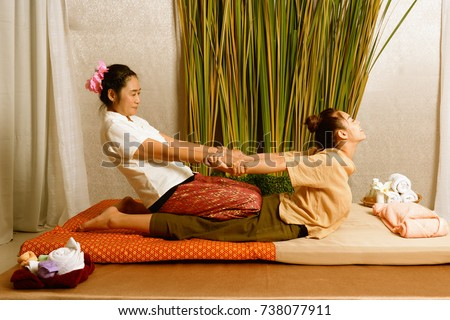 Spa and massage : Thai massage and spa for healing and relaxation #738077911