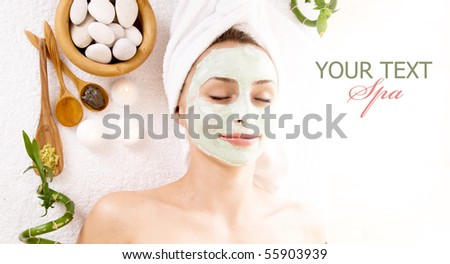 Spa Facial Mask.Dayspa