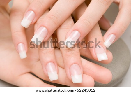 Spa hands - stock photo