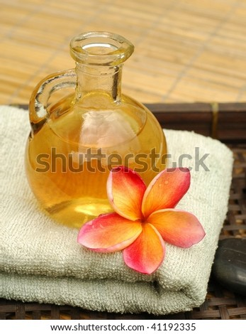Spa massage oil