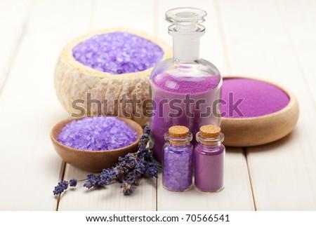 Spa minerals - lavender bath salt