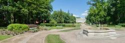 Spa palace in the thermal spa, Jelenia Góra, Lower Silesia, Poland