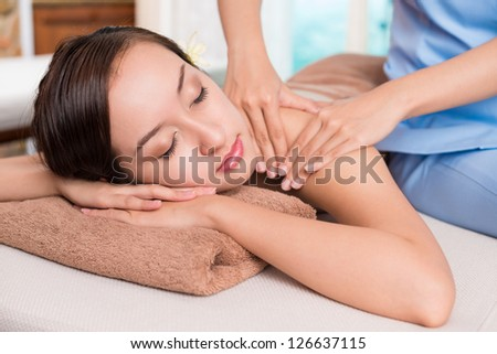 Spa relaxation - stock photo