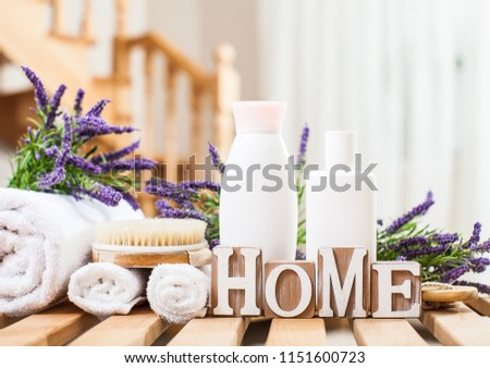 Free photos Purple spa still life on wooden background | Avopix com