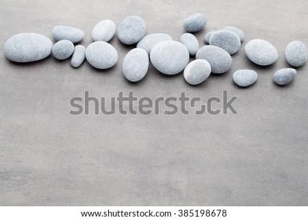 Spa stones treatment scene, zen like concepts. #385198678