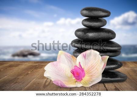Spa Treatment, Health Spa, Stone. #284352278