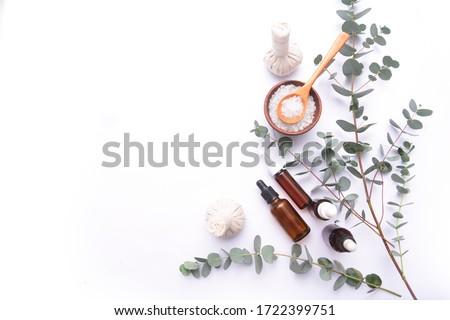 Spa wellness with aromatherapy theme . spa background  Foto stock ©