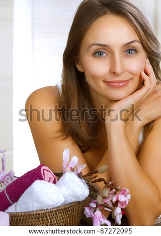 Spa Woman portrait - stock photo