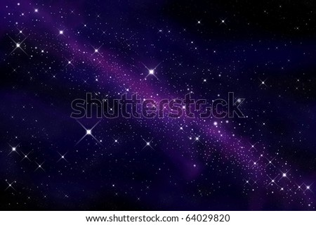 Space and stars