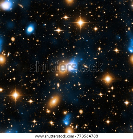 space christmas new year glitter pattern background dark night black sky and flickering stars