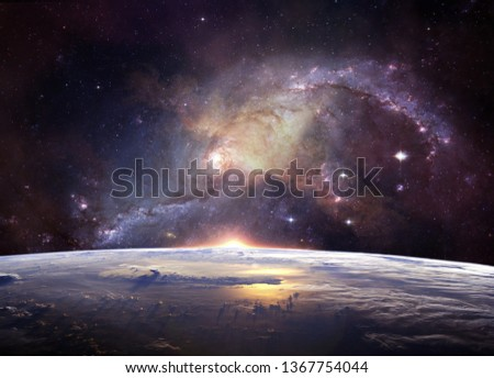 space galaxy star color full image awesome looking dark blue space balck white light abstract landscape