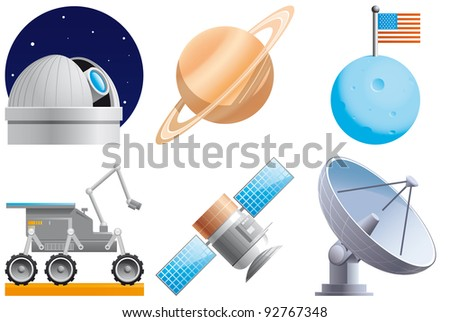 Space icons