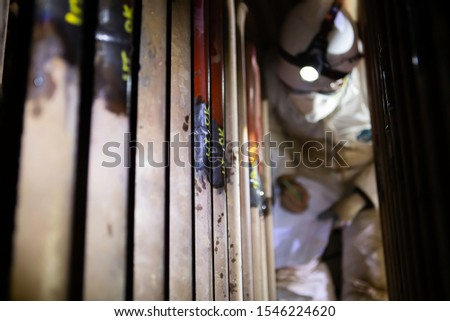 Space is limited. The weld inspection is performed and all data are recorded during the boiler welding maintenance period. Which is a confined space and difficult to inspect by inspectors.