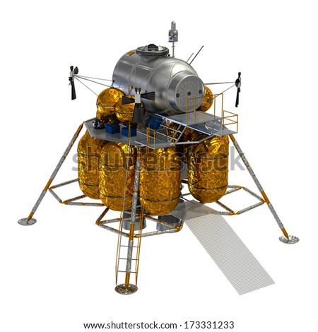 Space Lander - stock photo