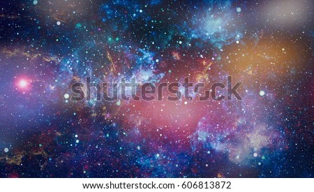 space many light years far from the Earth. Elements of this image furnished by NASA #606813872
