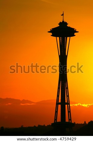 Space Needle Silhouette