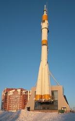 space rocket - monument