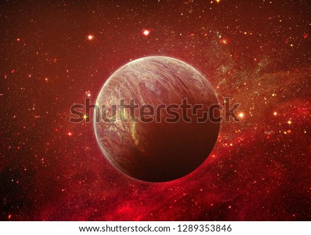 Space Scene - Elements of this Image Furnished by NASA