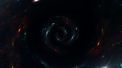 Space scene with planets, stars and galaxies. black hole, Planets and galaxy, science fiction wallpaper. Beauty of deep space. Billions of galaxy in the universe Cosmic art background