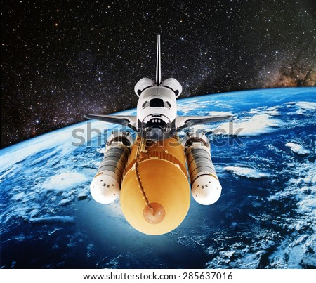 a space shuttle astronaut in a circular orbit - photo #30