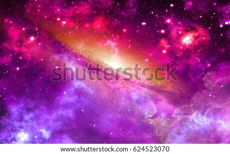 space universe nebula star light