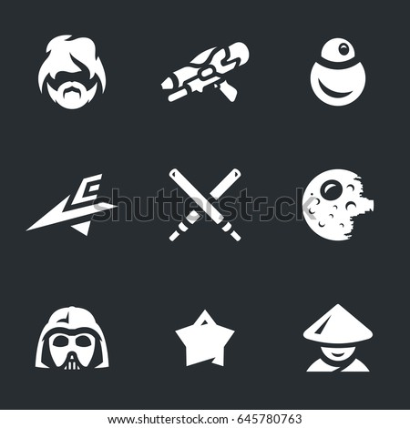 Space War Icons.