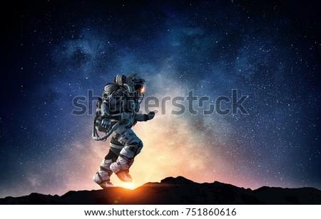 Spaceman Running