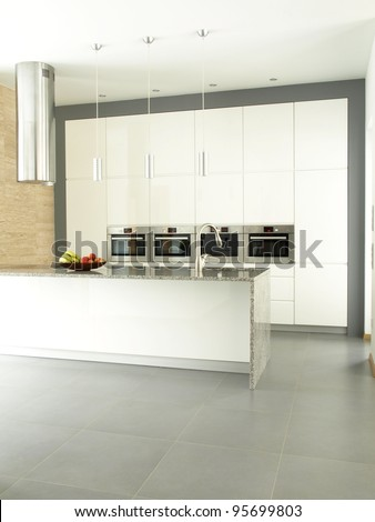 Spacious kitchen in a private property