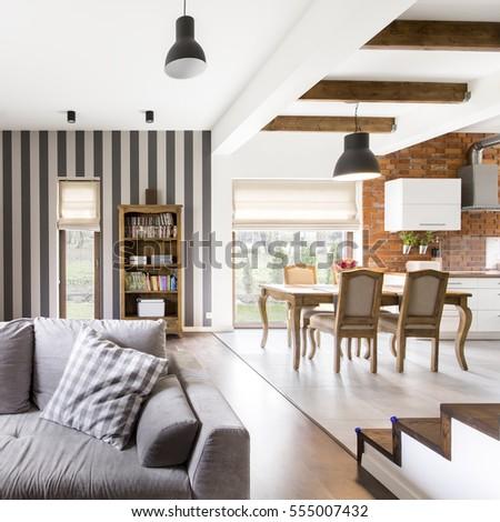 spacious modern glamour home...