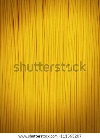 Spaghetti closeup with vignette for background