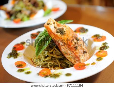 spaghetti fish