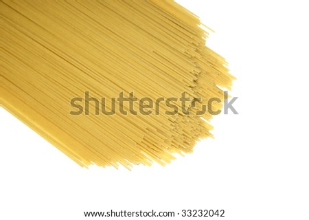 Spaghetti isolated on a white background #33232042