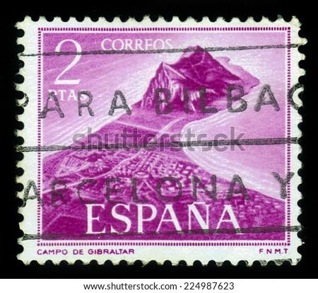 spain   circa 1969  a stamp...