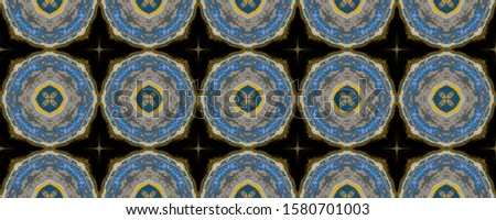 Spain Endless Tile. Endless Tiled Ornament. Air Abstract Wallpaper. Watercolor Fabric. Arabian Trendy Material. Air Tribal Motif.