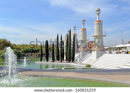 Spain Industrial Park. Sants. Barcelona