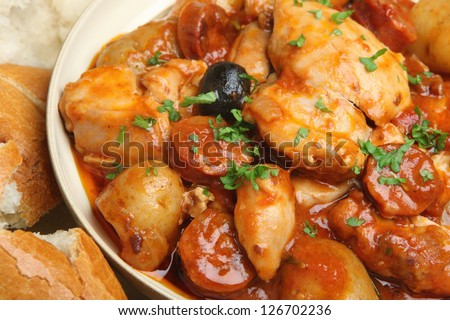 Spanish Chicken Casserole, 01/13