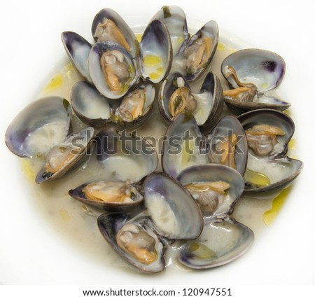 Spanish Clams with seafood