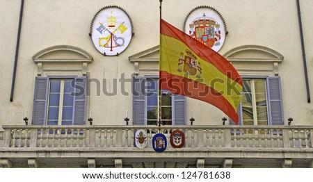 Spanish embassy in Italy, Rome, Lazio, Italy