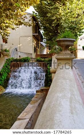 Spanish fountain in Anna #17784265