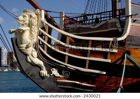 Spanish pirate ship