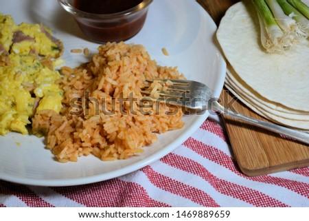 Spanish rice side dish dinner