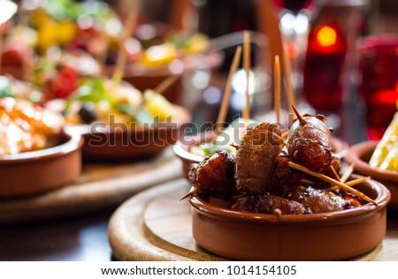 Spanish Tapas Food Foto stock ©