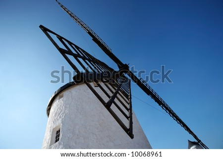 Spanish windmill in Castilla