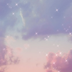 Sparkle cloud gradient pastel dreamy background