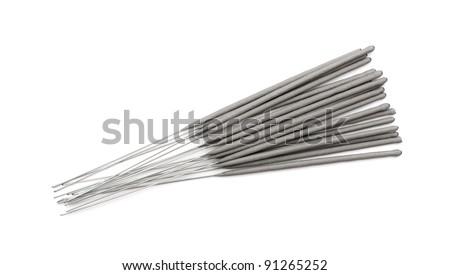 sparkle sticks isolated on white