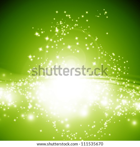 Sparkling background with intense glowing sparkles and glitter
