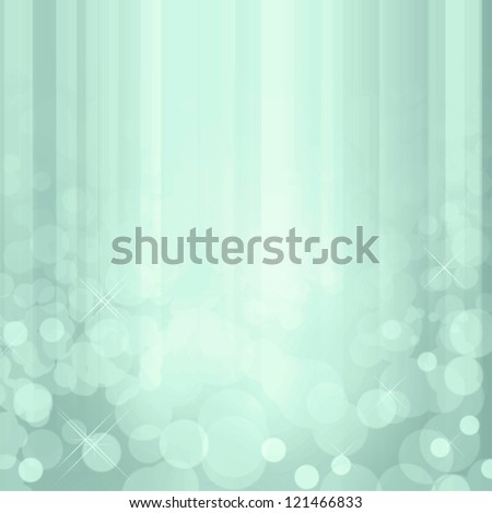 Sparkling blue waterfall effect background with white lights.