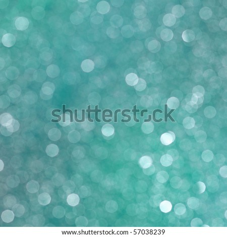 Sparkling blurred abstract blue background - square